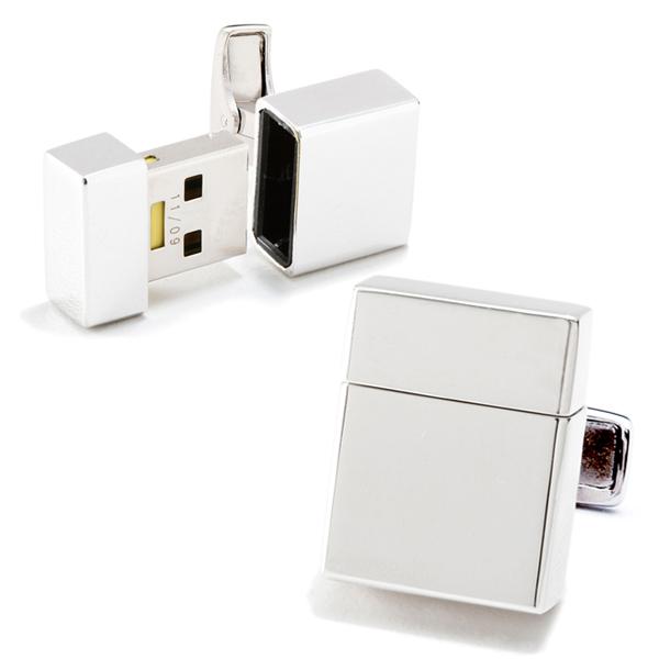 USB Manschettknappar